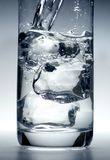 Glass water Stock Images