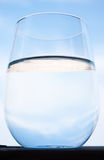 Glass of water Stock Images