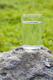 A glass of water Stock Images