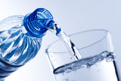 A glass of water. An  concept glass of water Stock Photo