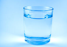 Glass of water Royalty Free Stock Photos