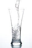 Glass with water Royalty Free Stock Photo