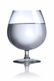 A glass with water Royalty Free Stock Photos