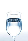 Glass of water. Glass of clear water Stock Photography
