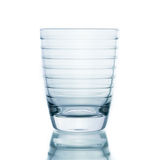 Glass water clear isolate Stock Photo