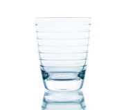 Glass water clear isolate Stock Photography