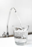 A glass of water Royalty Free Stock Images