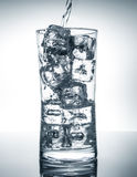 Glass with water Stock Photography