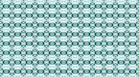 Glass water in graphic pattern. Stock Photo