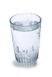 Glass of water isolated Stock Photography