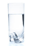 Glass with water, isolated Stock Images