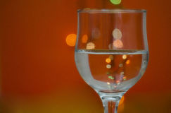 Glass with water Stock Photo