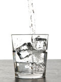 Glass or water Royalty Free Stock Photos
