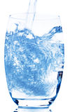 Glass with water Stock Photos