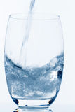 Glass with water Royalty Free Stock Images
