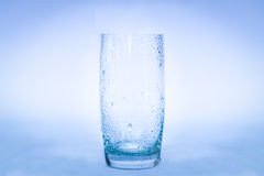 Glass Of Water Splash Stock Photography