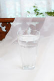 A glass of water Royalty Free Stock Image