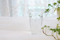 A glass of water Stock Photos