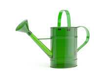 Glass watering can Stock Photo