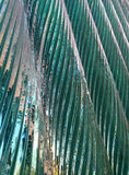 Glass wave wall. Royalty Free Stock Photo
