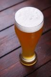 Glass of wheat beer Royalty Free Stock Photo