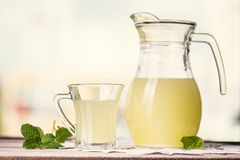 Glass of whey Stock Photography