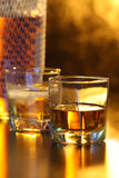glass whiskey Royaltyfri Bild