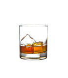 Glass of whiskey Royalty Free Stock Photo