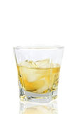GLass of whiskey Royalty Free Stock Photos