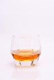 glass whiskey Arkivbild
