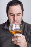 A glass of whiskey Royalty Free Stock Images
