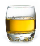 Glass of whiskey. Glass of scotch whiskey Royalty Free Stock Photos