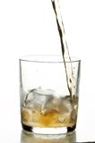 Glass with whiskey Stock Photo