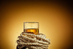 glass whiskey Royaltyfria Bilder