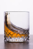glass whiskey arkivbild