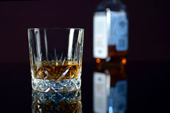 Glass of whiskey Stock Photography