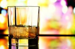 Glass of whiskey Royalty Free Stock Photos
