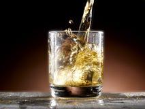 Glass of whiskey Stock Photos
