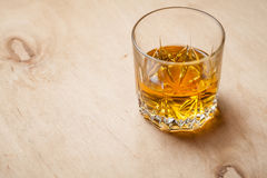 Glass of whiskey Stock Image