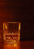 Glass of whisky. With dark background Royalty Free Stock Photo