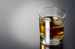 Glass whisky Stock Images