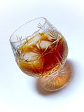 Glass of Whisky Stock Images