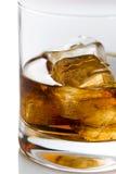 glass whisky Royaltyfri Bild