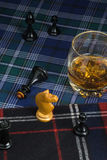 Glass of whisky Royalty Free Stock Photography