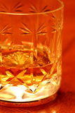 Glass of whisky B Stock Images