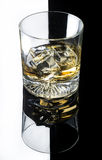Glass of whisky Stock Photos