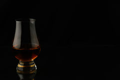 Glass with whisky Royalty Free Stock Photos
