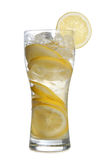 Glass whit lemon Royalty Free Stock Photos