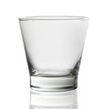 Glass on a white background Stock Photography