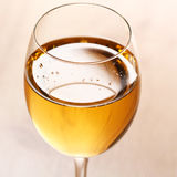 Glass of white wine Stock Image